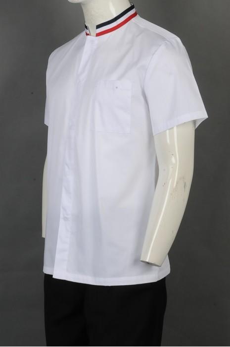 iG-BD-CN-059 网上下单厨师制服 来样订做白色厨师制服 厨师制造商