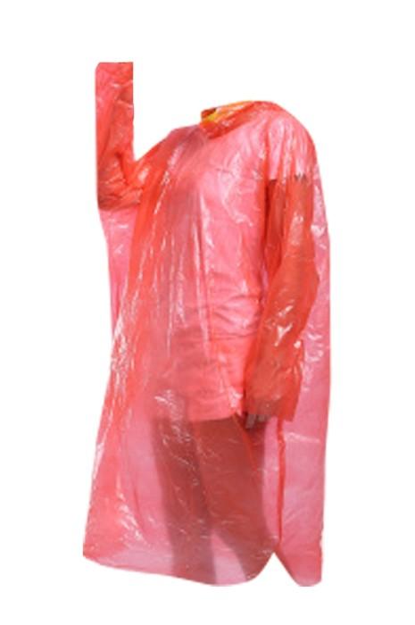 SKRT022 製造一次性透明雨褸  加厚 設計連帽抽繩雨褸 雨褸中心 旅遊戶外