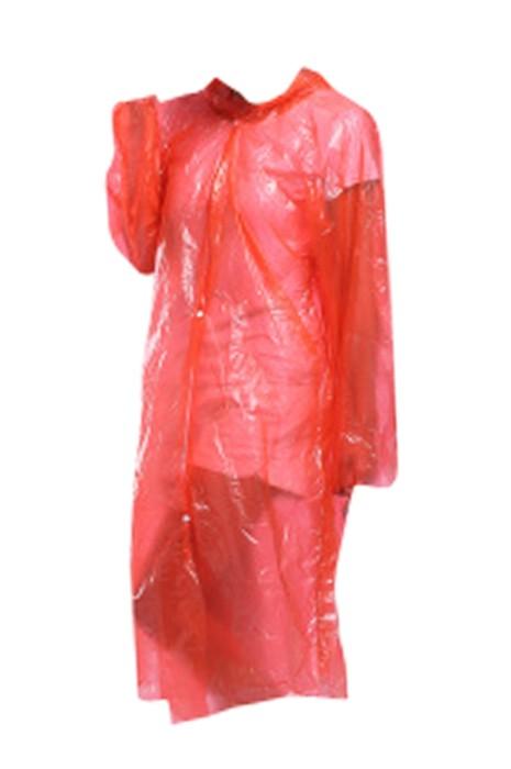 SKRT023 製造一次性連帽雨褸 訂製開衫鈕扣雨褸 雨褸製衣廠 旅遊 戶外