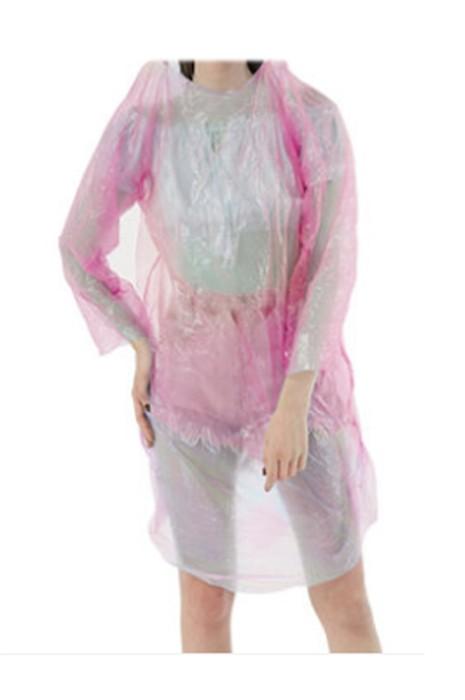 SKRT030  製造輕薄連帽一次性雨褸 旅遊 戶外活動 訂製直筒袖口雨褸 雨褸中心  輕便雨衣批發  輕量雨衣