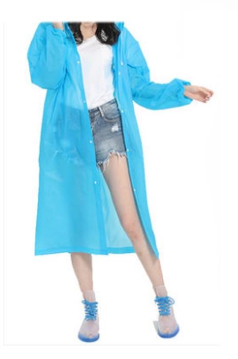 SKRT032 網上訂購連帽抽繩一次性雨褸 旅遊 戶外活動 設計開扣雨褸  束口袖 雨褸專營