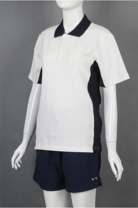 iG-BD-CN-193 订制POLO短袖团体制服 设计短裤抽绳团体制服 团体制服制衣厂