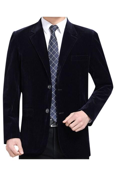 SKMS010  訂製中老年男士休閒西服  外套中年男金絲絨西裝   男燈芯絨單上衣   寬鬆爸爸