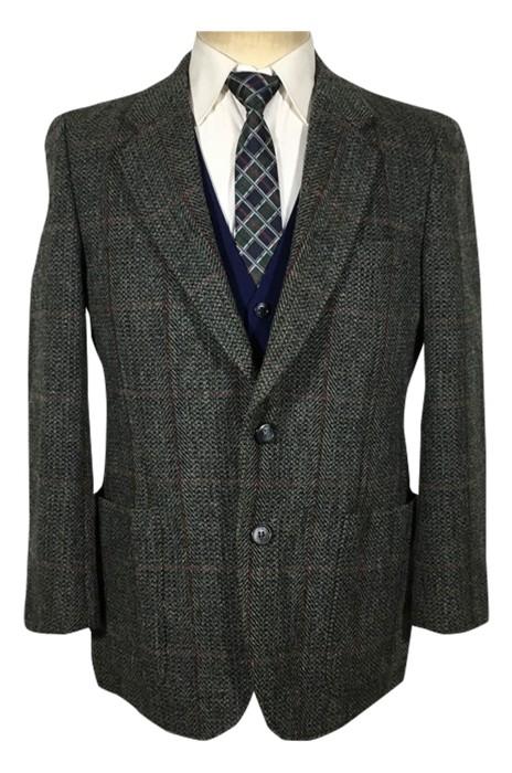 SKMS012   訂製古著日產男式羊毛英倫風西裝  復古休閒西裝    西裝獵裝外套