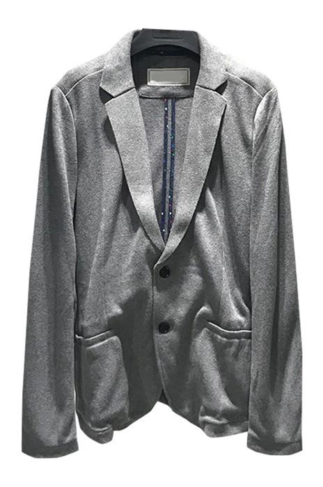 SKMS026   訂購男西裝   純色針織西服    男士商務休閒西裝外套   春季    單層