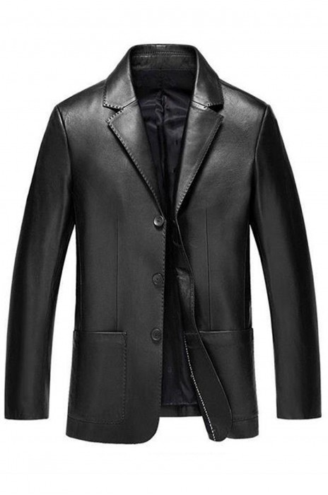 SKMS032 供應皮衣夾克西裝外套  設計單排三鈕氣質西裝外套  西裝外套專門店