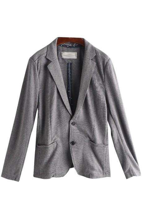 SKLS010  訂購百搭女西裝   針織長袖 純色針織西服