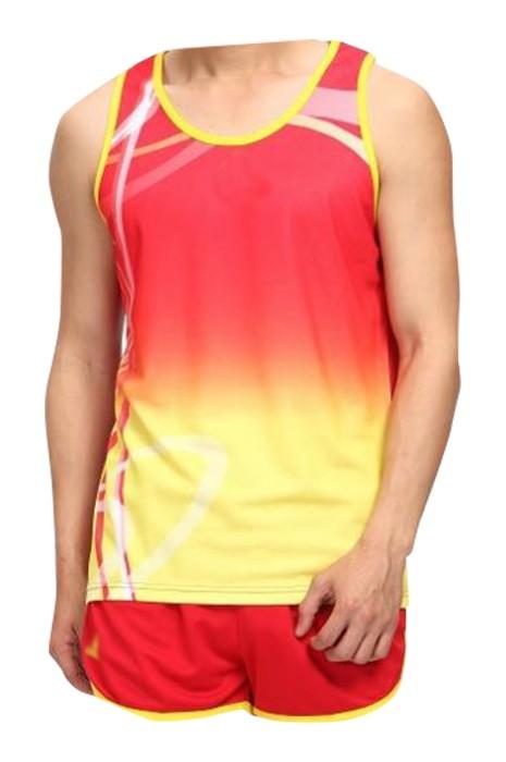 SKTAFC001 大量訂製田徑運動服 設計團體比賽 馬拉松 短跑 運動服 田徑運動服供應商