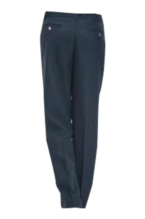 SKSU001 製造修身保安褲  設計腰部調節 斜插口袋保安褲 物業保安褲