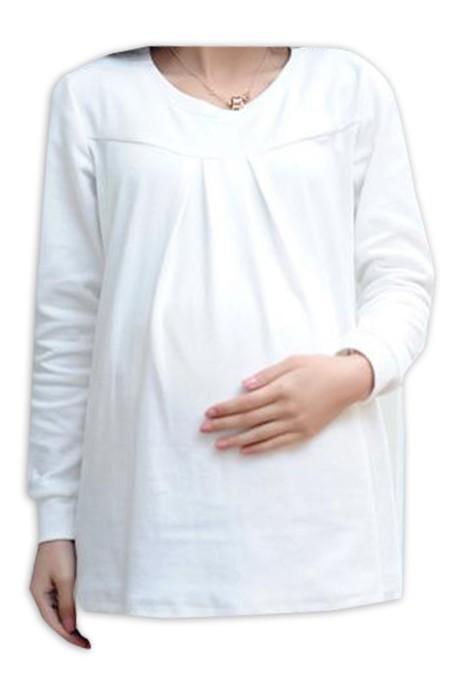 SKUFPW014 網上下單訂購長袖T恤孕婦裝 設計寬鬆孕婦裝 孕婦裝中心