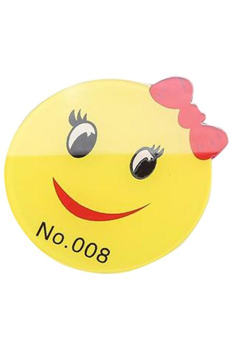 SKAC003  訂製服務員胸牌   供應亞克力酒店員工胸牌 銀行 超市胸牌 防水 亞克力工牌
