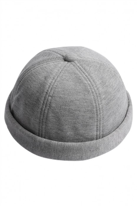 網上下單訂製無邊帽  設計水手休閒地主帽 無邊帽供應商 SKBSC001