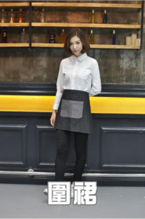 模特展示-圍裙