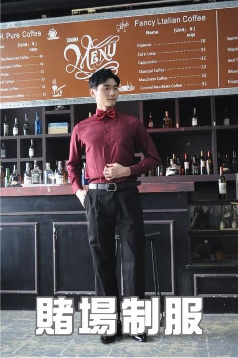 模特展示-賭場制服