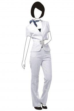 bs067 职业西装款式 订造短袖西装外套 女