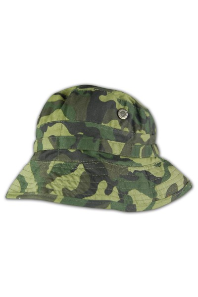 HA210 custom camo bucket hat with string d5bb0088499