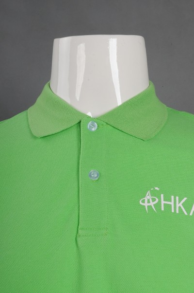 P1090 Make a net color Polo shirt Hong Kong Gifted Education College Polo shirt manufacturer  detail view-3