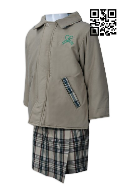 Manufacturing kindergarten uniform design school uniform Hong Kong