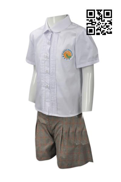 Order kindergarten school uniform design kindergarten skirt