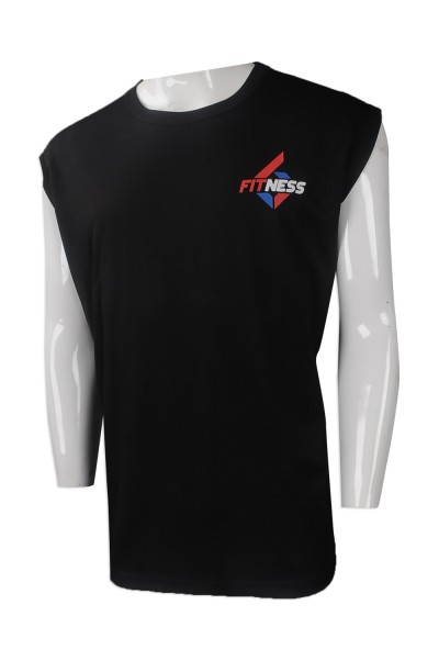 297cc77a VT205 Custom sports vest T-shirt Hong Kong Fitness Center Vest T-shirt  franchise ...