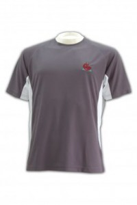 W047 short sleeve camp tee front view