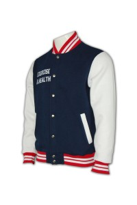 Z142 Baseball jacket, Baseball jacket custom, Baseball jacket design, 棒球褸訂做, 棒球褸專門店