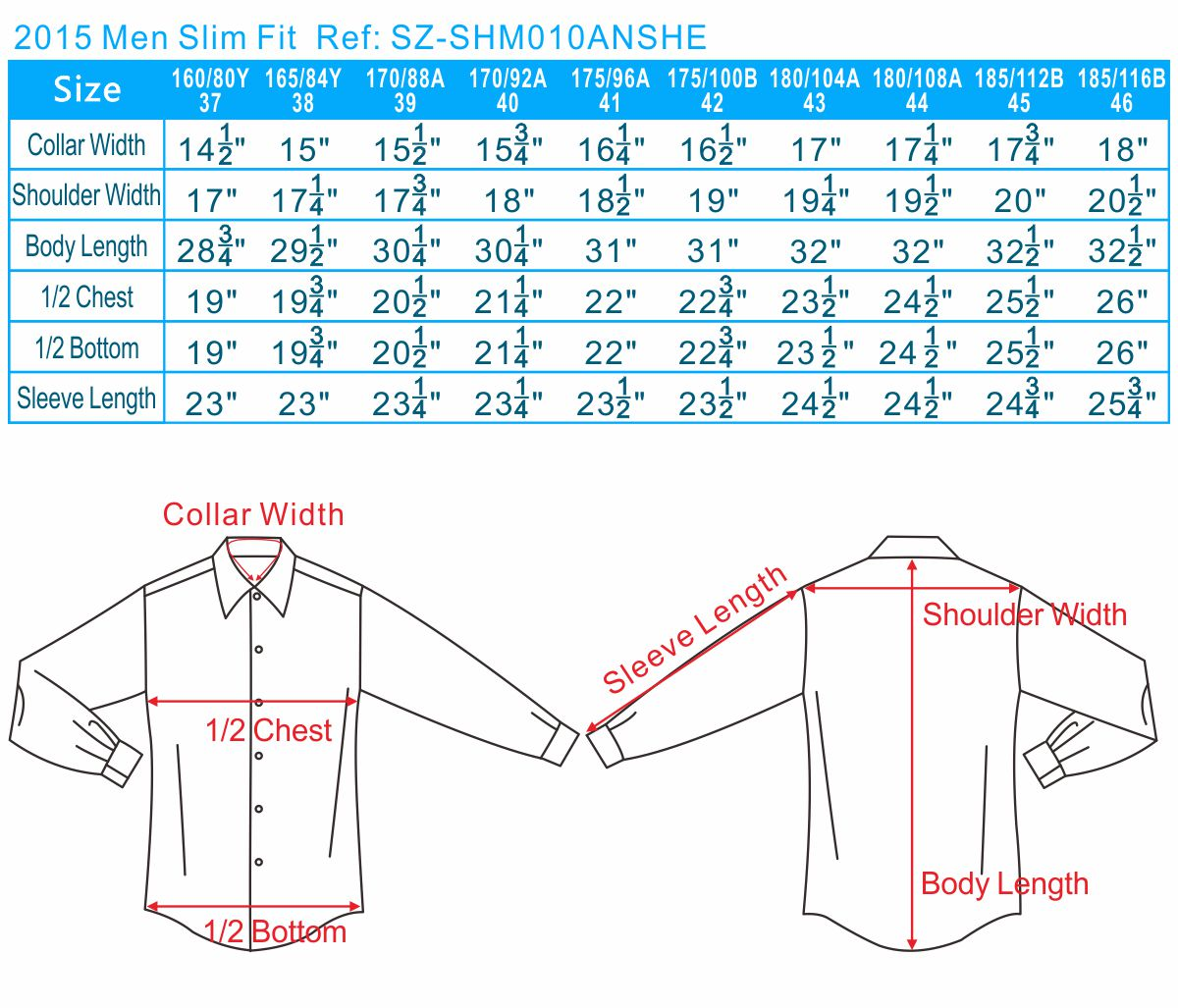 2015 Men Slim Fit