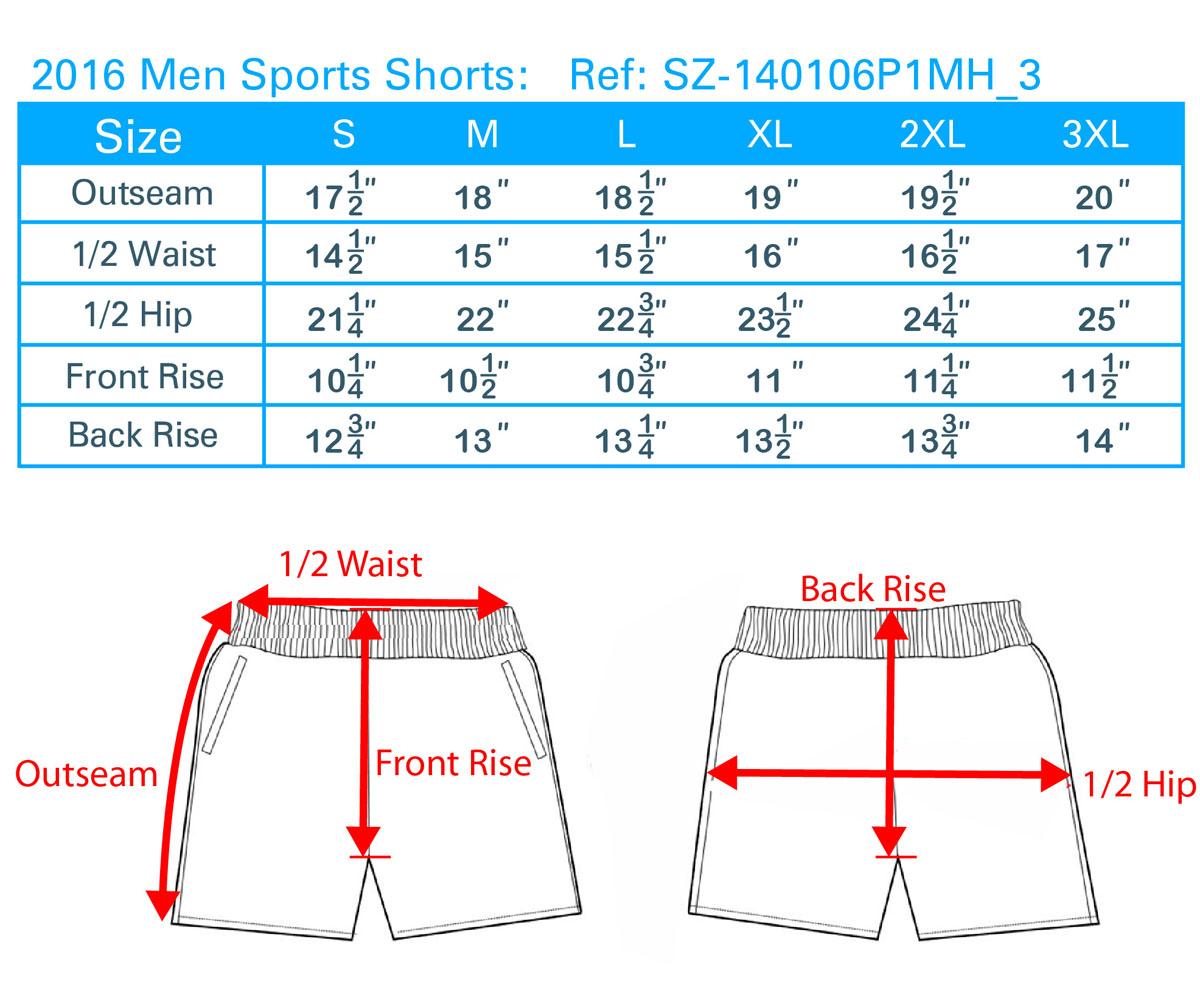 2016Men Sport Shorts
